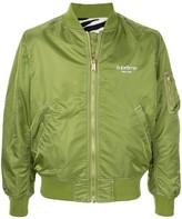 Supreme contrast stitch reversible MA SS17 jacket