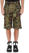 Givenchy Men's Camouflage- & Money-Print Shorts-DARK GREEN