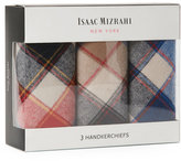 Isaac Mizrahi 3-Pack Plaid Handkerchiefs