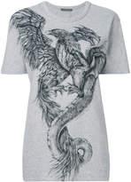 Alexander McQueen Phoenix print T-shirt