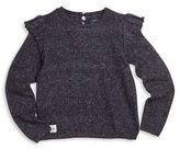 Ralph Lauren Toddler's & Little Girl's Ruffled Sweater