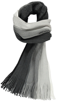 George Striped Knitted Scarf