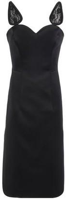 Christopher Kane Lace-trimmed Satin Dress