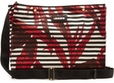 Marni Striped canvas tote