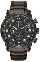 Citizen Primo Chronograph Gunmetal-Tone Bracelet Watch