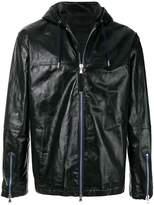 Diesel Black Gold front zip jacket