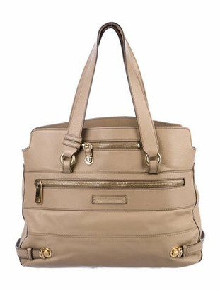Marc Jacobs Leather Shoulder Bag Gold