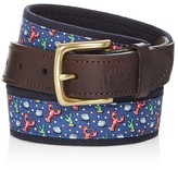 Vineyard Vines Lobster Canvas Club Belt