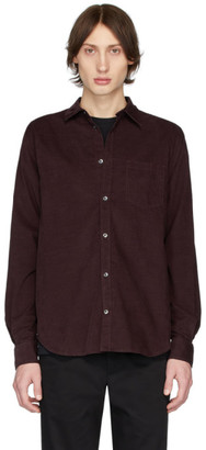 Norse Projects Burgundy Corduroy Osvald Shirt