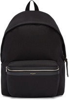 Saint Laurent Black Classic City Backpack