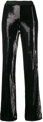 P.A.R.O.S.H. High Waisted Embellished Trousers