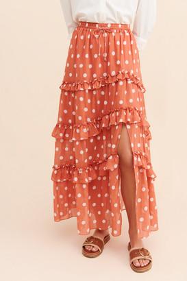 Steele Poppy Skirt