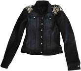 Philipp Plein Grey Cotton Jacket for Women