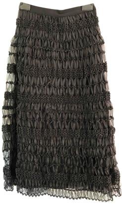 Max Mara Weekend Black Cotton Skirts