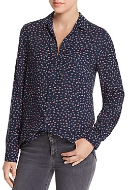 BeachLunchLounge Printed Button-Down Top