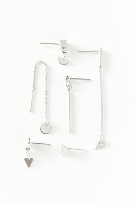 Urban Outfitters Gia Mismatch Post Earring Set