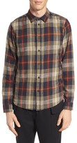 NATIVE YOUTH Men's Brae Plaid Flannel Shirt
