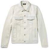 A.P.C. Waren Slim-Fit Washed-Denim Jacket