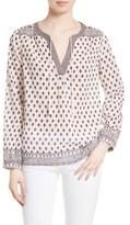 Soft Joie Women's 'Sefrina' Crinkle Cotton Peasant Top