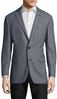 Brooks Brothers Houndstooth Notch Lapel Sportcoat