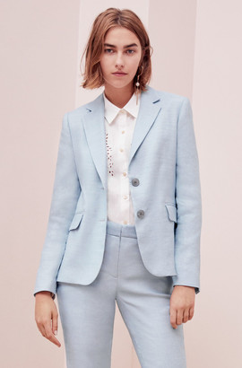 Rebecca Taylor Tailored Twill Suiting Jacket