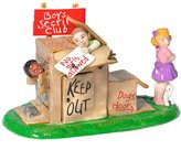 D.E.P.T 56 - Snow Village - No Girls Allowed by Department 56 - 55217