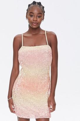 Forever 21 Sequin Cami Mini Dress