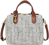 Fossil Fiona Dotted Satchel