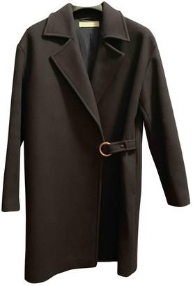 Veronique Branquinho Blue Wool Coats
