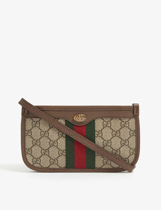 Gucci Ophidia canvas mini shoulder bag