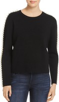 Endless Rose Faux Pearl Sweater - 100% Exclusive