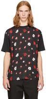 McQ Black Thrift Store Florals T-Shirt