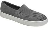 Bamboo Gray Knit Grand Slam Slip-On Sneaker