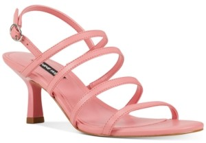 Nine West Smooth Strappy Dress Sandals Women's Shoes