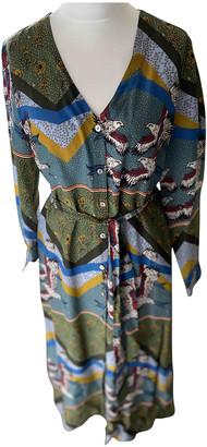Anthropologie Multicolour Silk Dresses