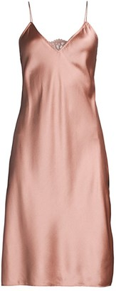 CAMI NYC Holland Stretch-Silk Midi Slip