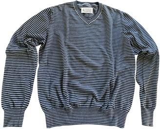 Maison Margiela Navy Cotton Knitwear & Sweatshirts