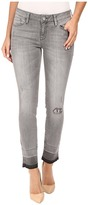 Mavi Jeans Adriana Ankle in Grey Destructed Vintage