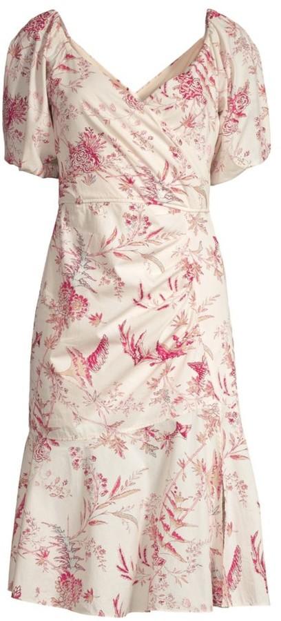 Rebecca Taylor Averie Floral Sheath Dress