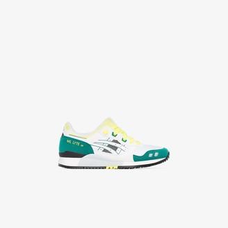 Asics Green Gel Lyte III OG low top sneakers