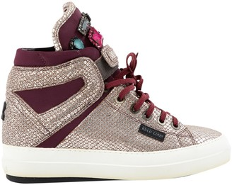 Ruco Line Multicolour Leather Trainers