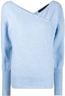 FEDERICA TOSI Asymmetric Knitted Jumper