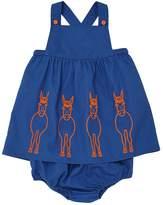 Stella McCartney Light Gabardine Dress & Diaper Cover