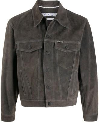 Off-White Arrows motif denim jacket