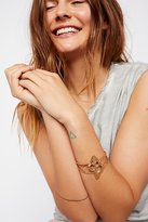 Free People Maui Metal Shell Cuff