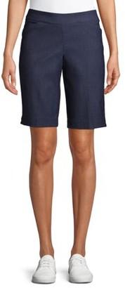 Time and Tru Women's Millenium Bermuda Shorts