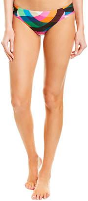 Trina Turk Kaleidoscope Shirred Side Hipster Bottom