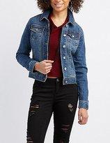 Charlotte Russe Refuge Denim Jacket