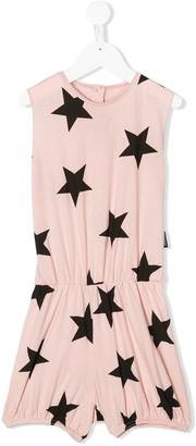 Nununu Star-Print Sleeveless Playsuit