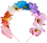 John Lewis Children's Summer Flower Crown Headband, Multi
